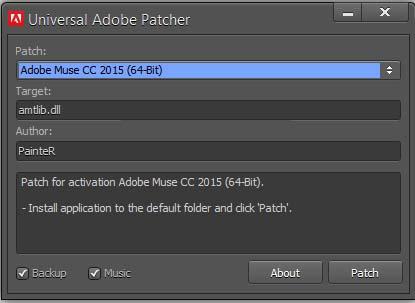 Adobe Muse 2015 Program Cost