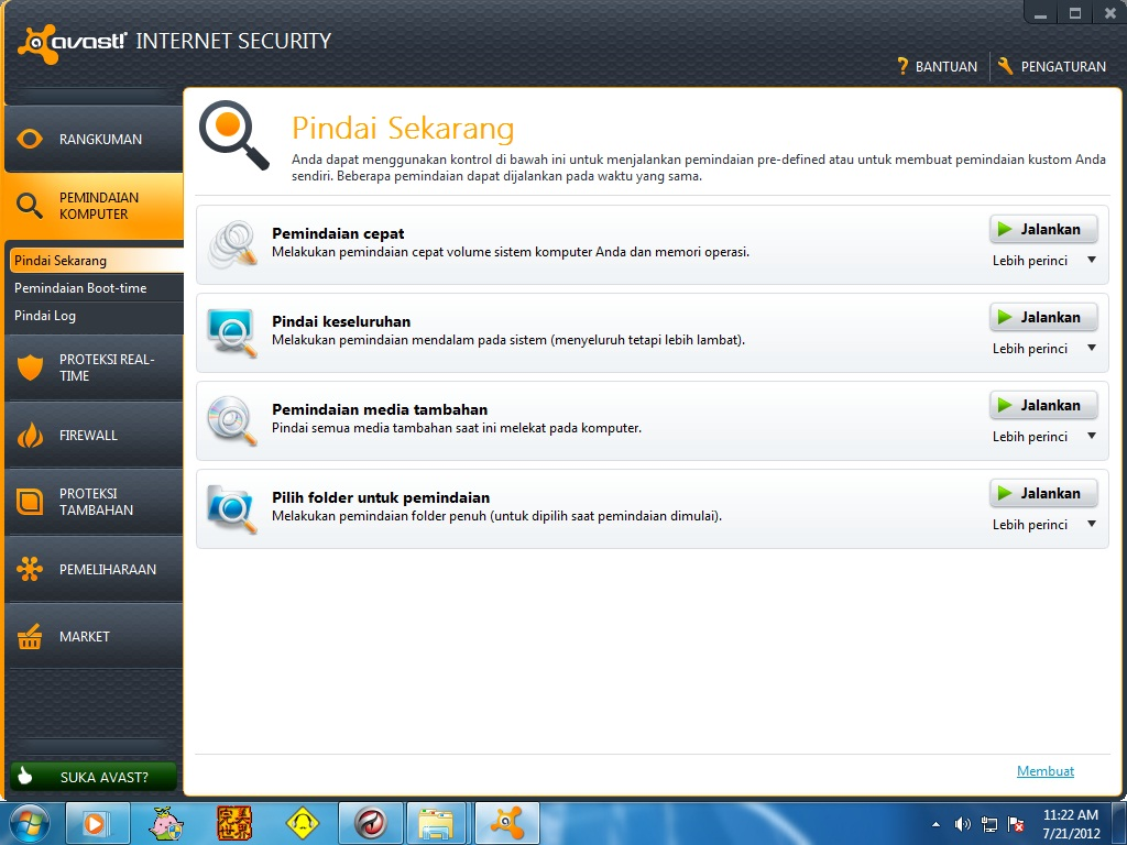 avast internet security 7