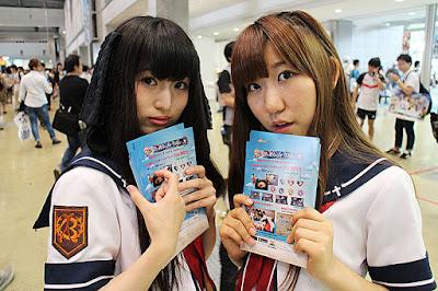 コミックマーケット92/企業ブースコンパニオン