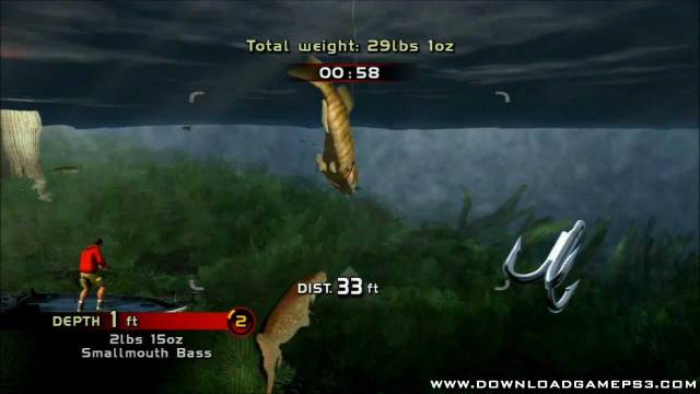 Rapala pro bass fishing download game ps3 ps4 rpcs3 pc free for Ps4 bass fishing games