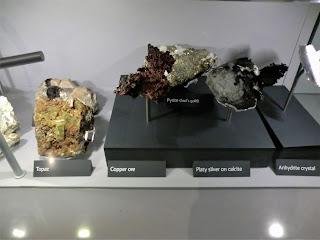 Minerales del Museo Historia Natural de Londres