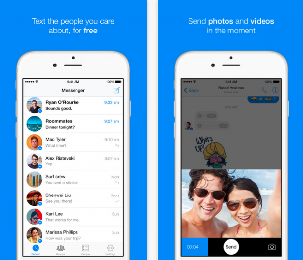 The 3D Touch also comes to Facebook Messenger