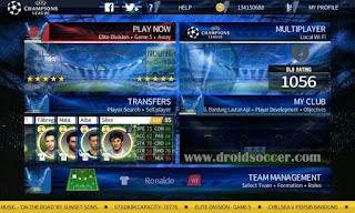 DLS 17 Mod UEFA Champions League