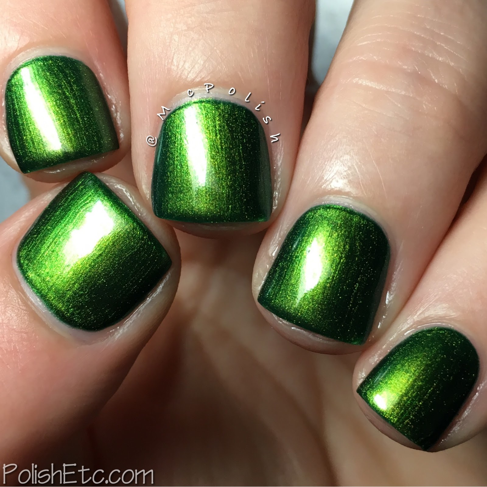 Great Lakes Lacquer - Polishing Poetic Collection - McPolish - Leave No Step Had Trodden