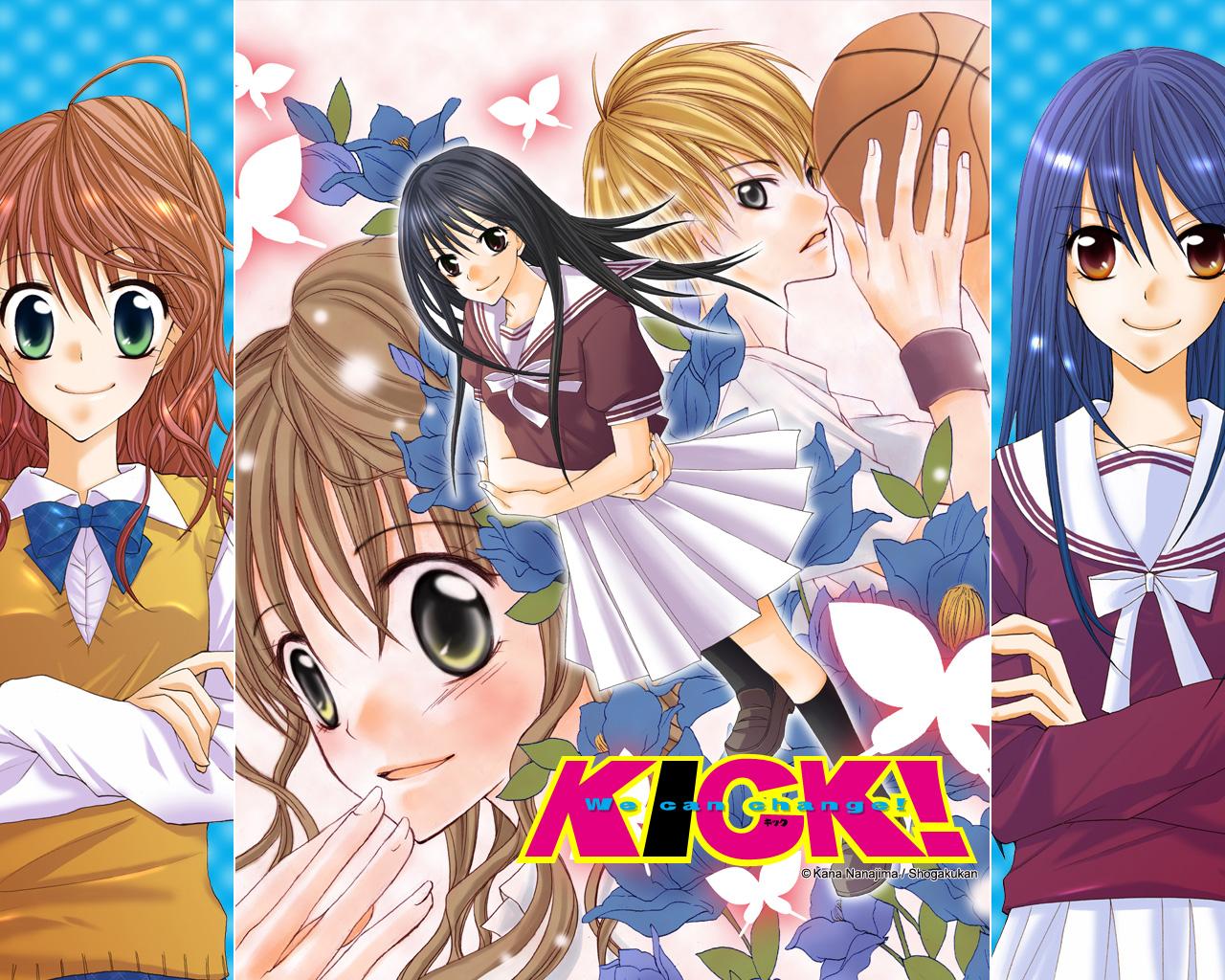 Kick! de Kana Nanajima