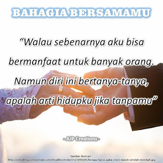 Kata-Kata Romantis Bahagia Bersamamu