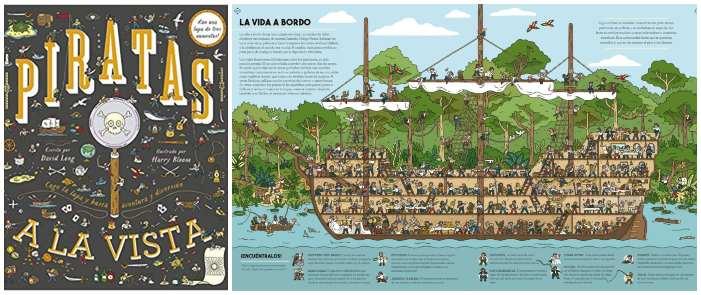 cuentos libros lecturas recomendadas verano 2018 Piratas a la vista busca encuentra