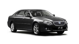 Dream Fantasy Cars-BYD F6 model 2011