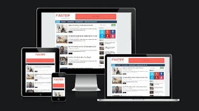 Faster Blogger Template   Template Fast Loading Dan Responsive Dari Templatesyard