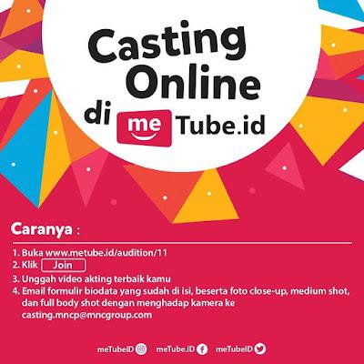 Casting Online Peluang Jadi Artis