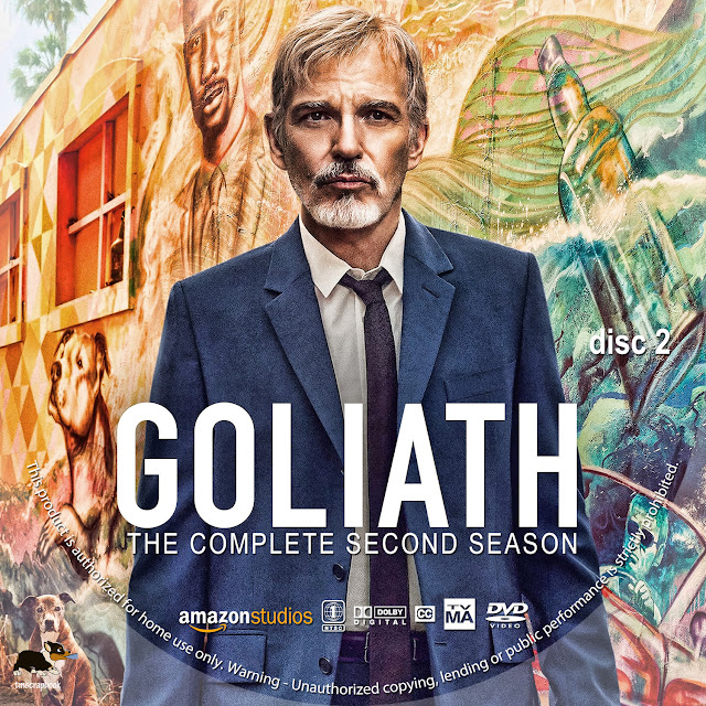 Goliath Season 2 Disc 2 DVD Label
