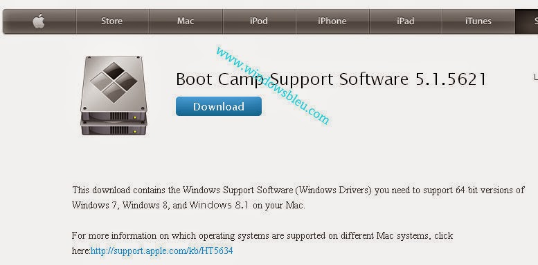 Boot camp install windows support software | How to install