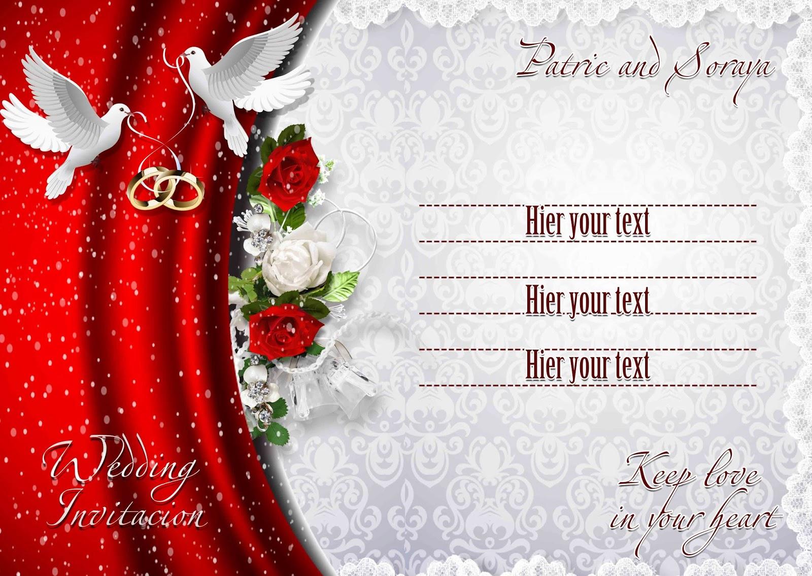 Wedding Invitations Psd Psd Free