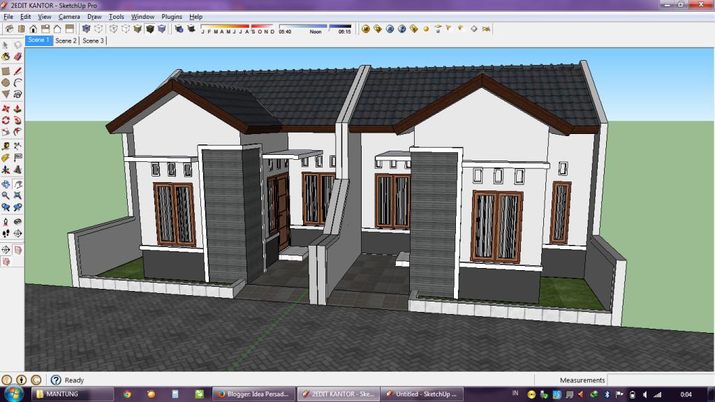 Desain Rumah Minimalis Dengan 3ds Max  idea persada arsitektur desain proses membuat gambar 3d