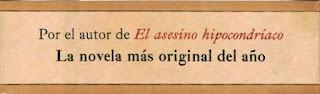 Faja promocional de la novela El gran imaginador o el viajero de los cien nombres de Juan Jacinto Muñoz Rengel [Plaza & Janés] que reza: La novela más original del año