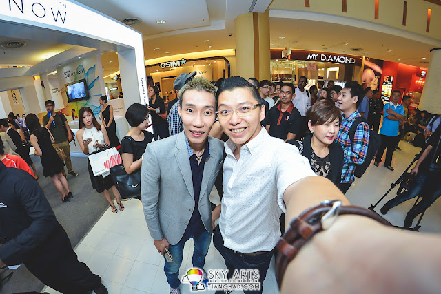 #TCSelfie with Dato' Lee Chong Wei after Incheon Asian Game