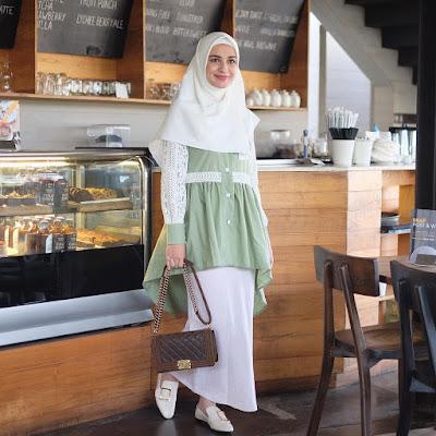 baju kerja muslimah shireen sungkar 2019