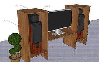 Cara Membuat Meja TV Sederhana