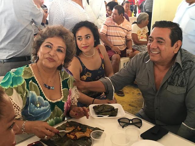 Félix Salgado y Adela Román en Morena