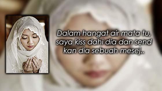 Chat Isteri Kepada Suami yang Membuatkan Suami Menangis Hiba