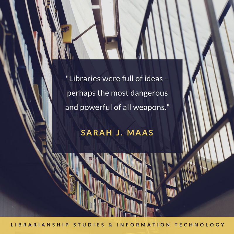 Libraries were full of ideas – perhaps the most dangerous and powerful of all weapons