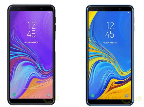 Samsung Galaxy A7 Feature Triple Rear Cameras