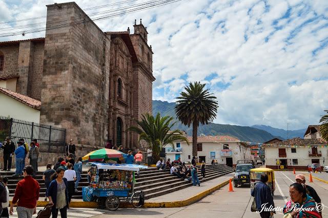 Ville d'Urubamba, Vallée Sacrée au Pérou