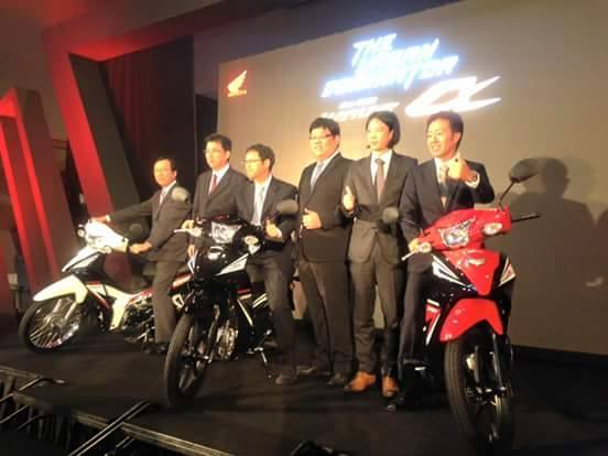Honda Wave Alpha 2016