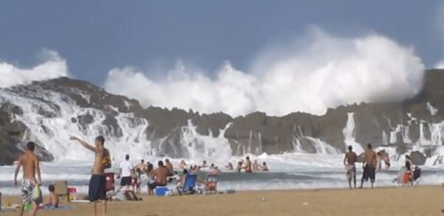 Puerto Nuevo rico porto praia ondas gigantes