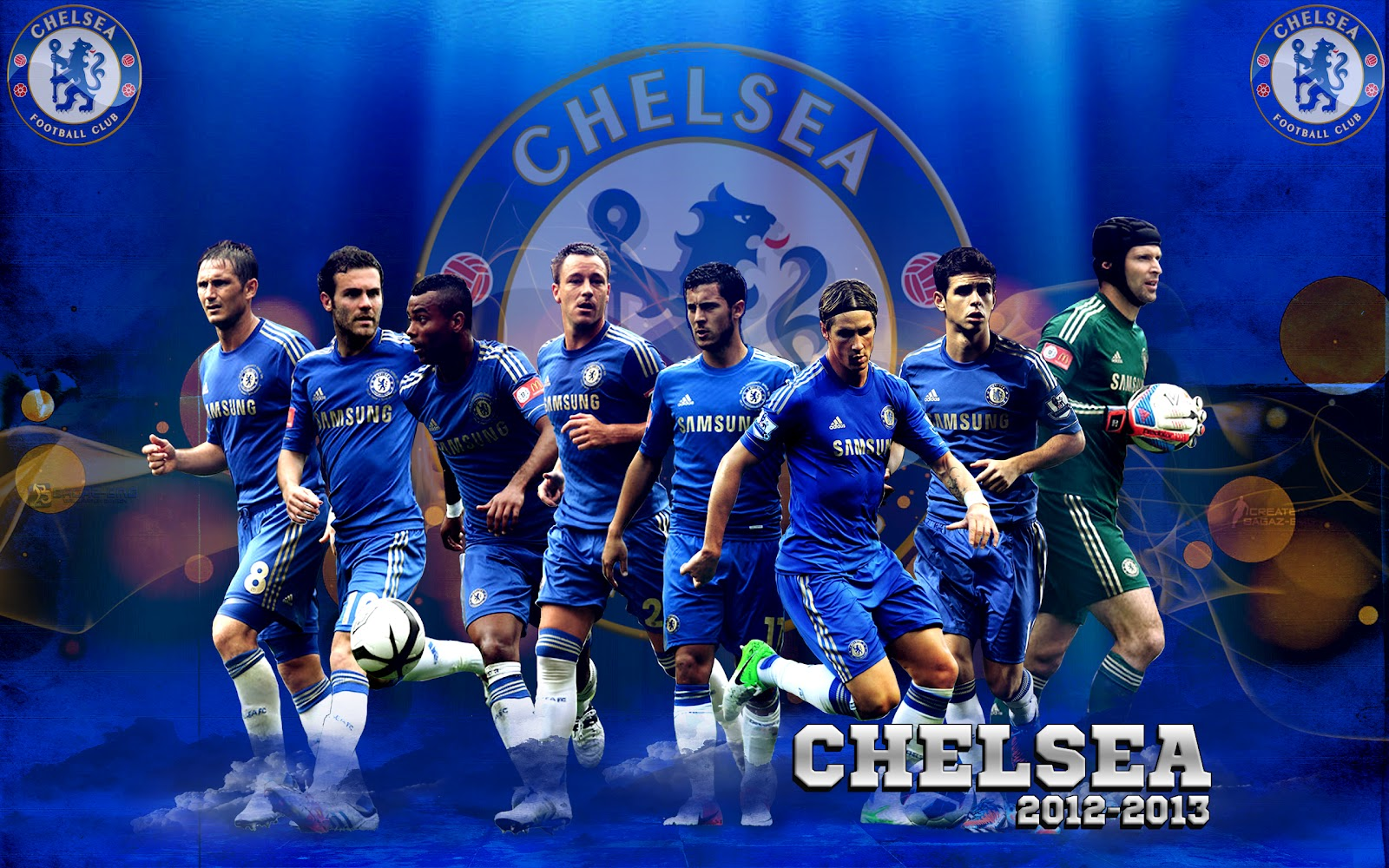 Football: Chelsea FC Soccer HD Wallpapers 2012-2013