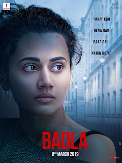 Badla First Look Poster 1