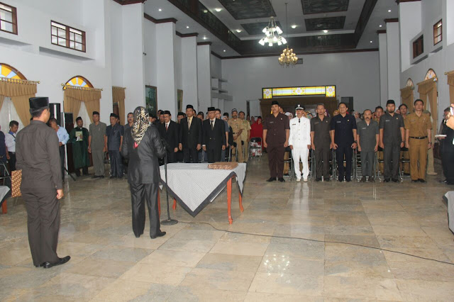 Bupati Subang Lantik 77 Pejabat Eselon 2,3 dan 4