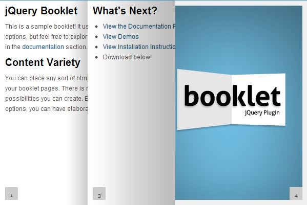 8 jQuery Page Flip Book Effect Plugin Examples - ASP NET,C#