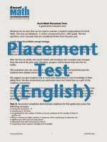 Free Placement Test
