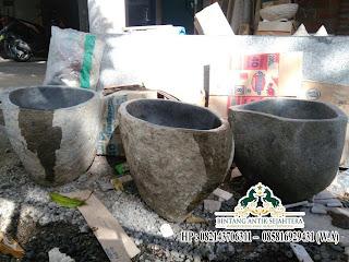Harga Wastafel Kaki, Wastafel Batu Alam
