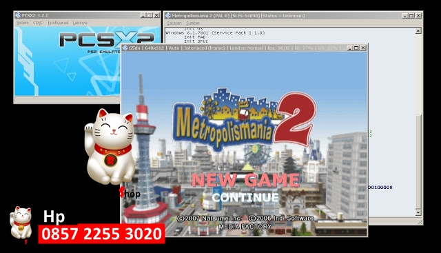Jual Kaset Game PS2 untuk dimainkan di PC atau Laptop Lengkap - Rihils