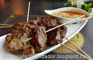 Soho thai restaurante Santiago Satay