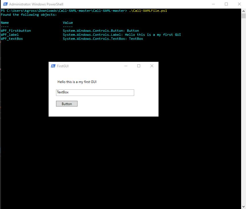 Create a GUI for a PowerShell Script