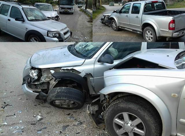 Τροχαίο ατύχημα στη Σαγιάδα Θεσπρωτίας (+ΒΙΝΤΕΟ)