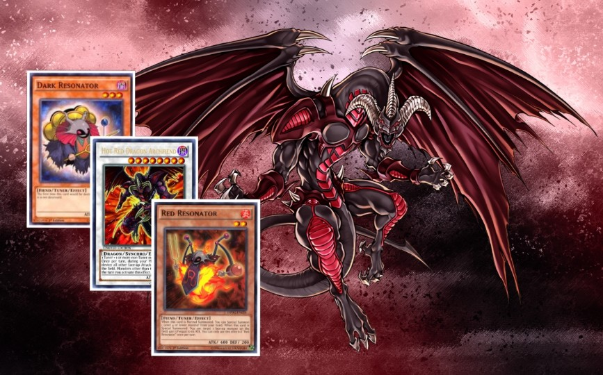 Red Dragon Archfiend Playmat