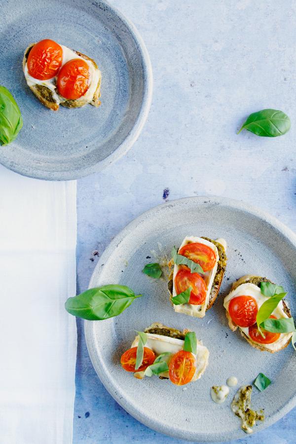 Crostini Rezept, Spoon and Key Blog, Foodblog, italienisches Rezept, Vorspeise