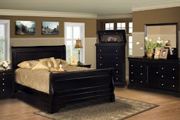 Black Cal King Bedroom Set