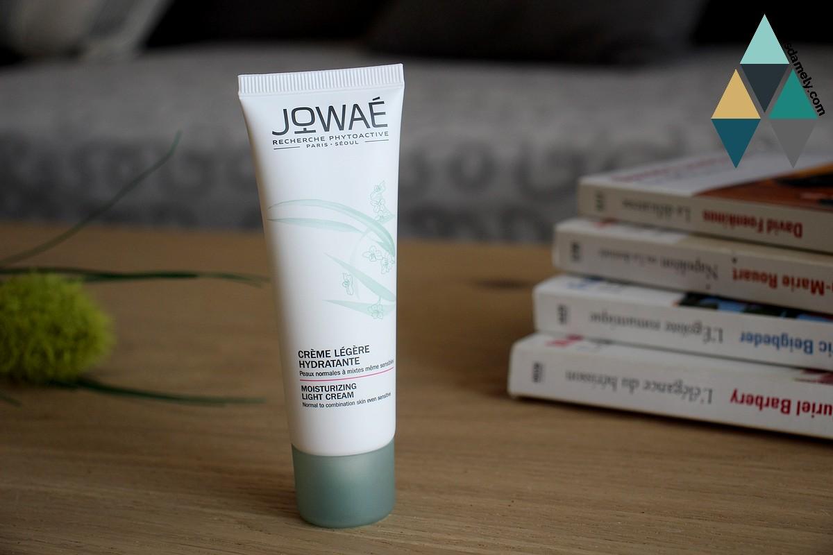 avis et test crème legère hydratante jowaé