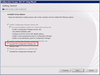 How to upgrade System Center Configuration Manager 2012 to SP1 3