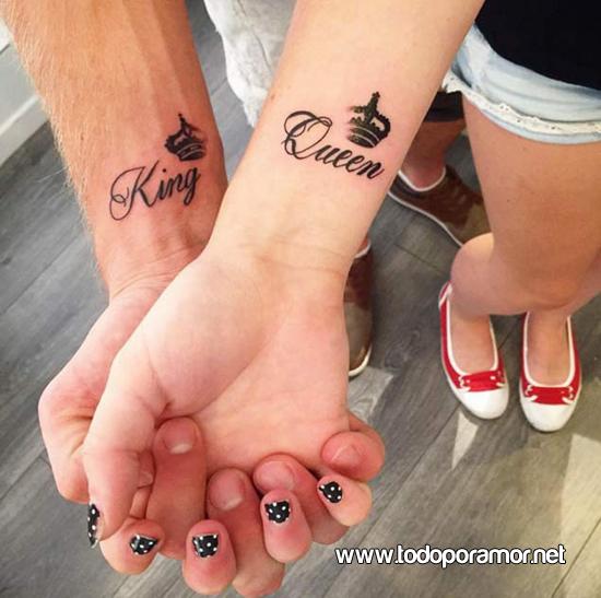 8 Ideas De Tatuajes Para Parejas Enamoradas Todo Por Amor