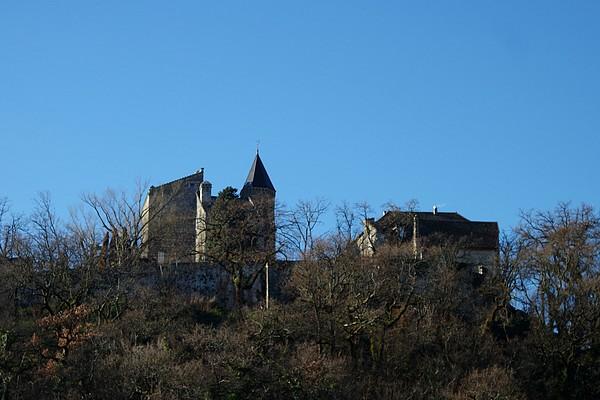 savoie randonnée chindrieux lac bourget château