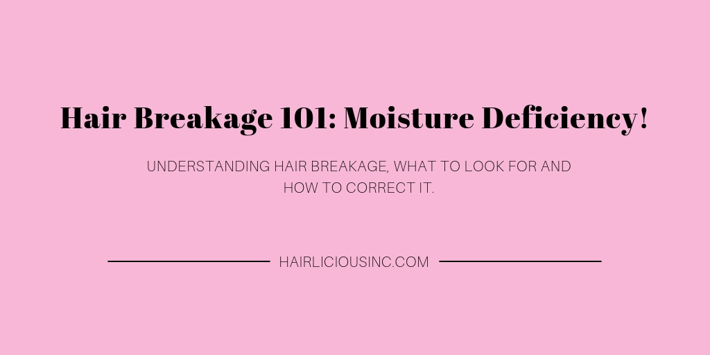 Hair Breakage 101 - Moisture Deficiency! | HairliciousInc.com
