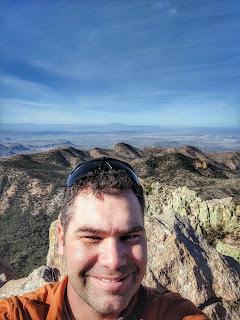 Selfie on Emory Peak