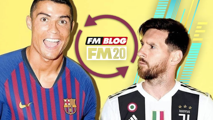 Football Manager 2020 - Ronaldo Messi Swap