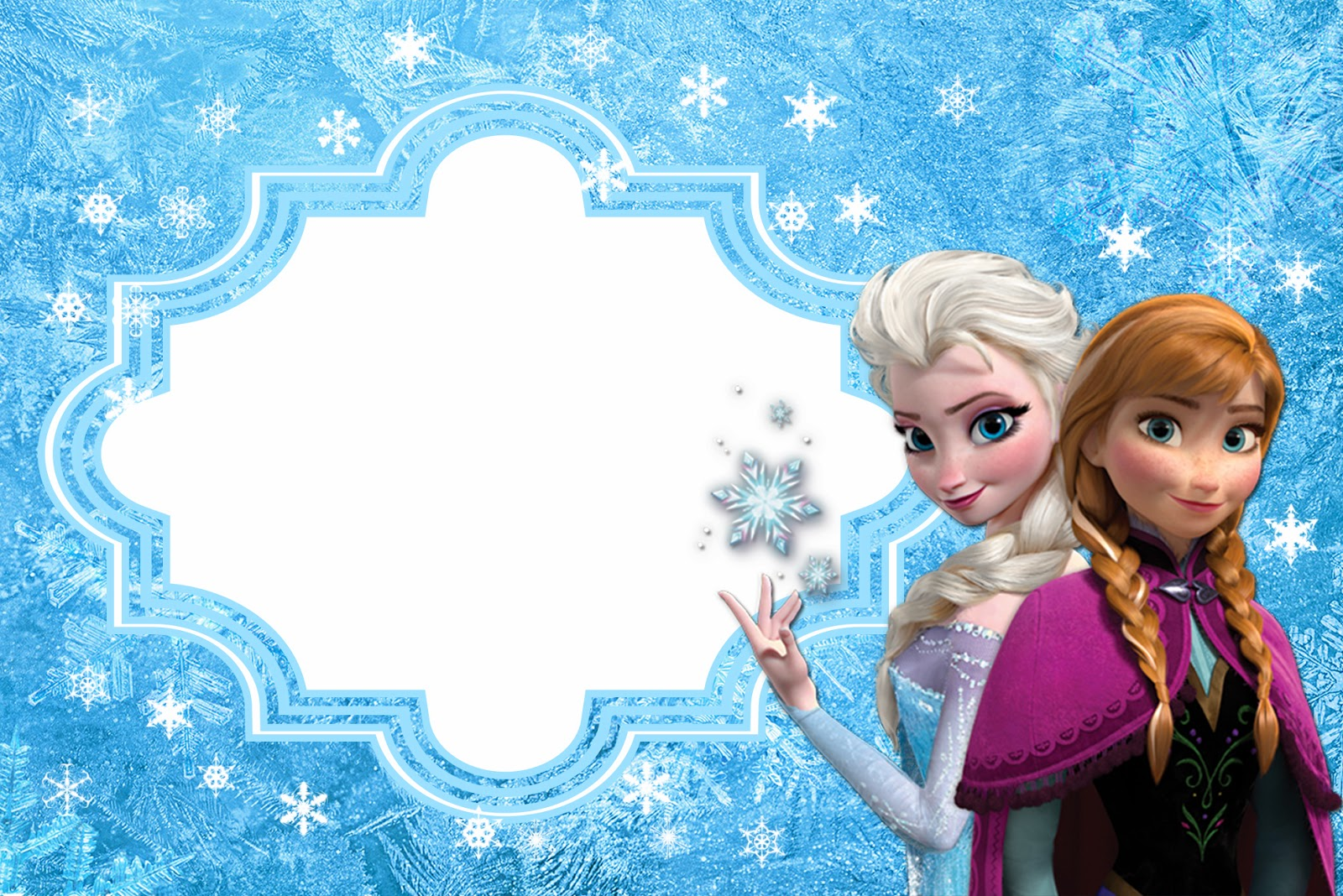 photo regarding Frozen Invitations Printable called Frozen: Cost-free Printable Playing cards or Get together Invites. - Oh My